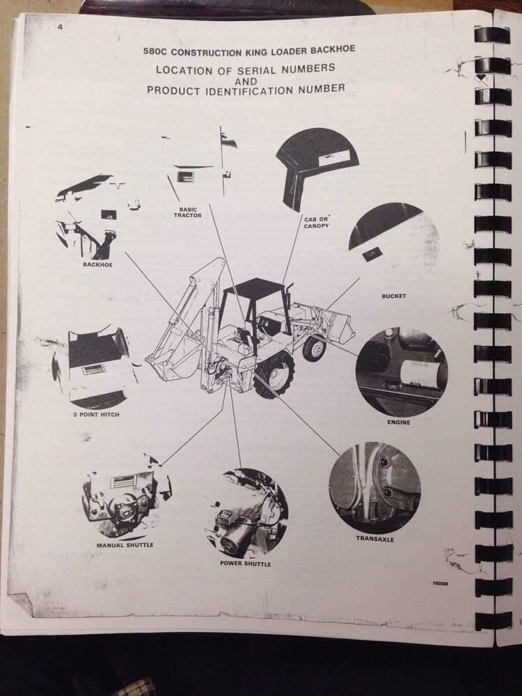 case 580c loader backhoe parts book manual f1283 finney equipment rh finneyparts us 580c case manual trans bearings case 580c shop manual