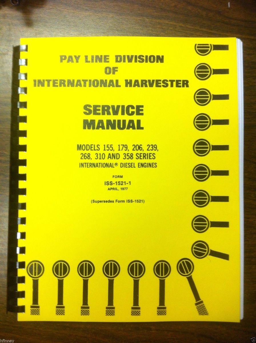 bosch injection pump service manual