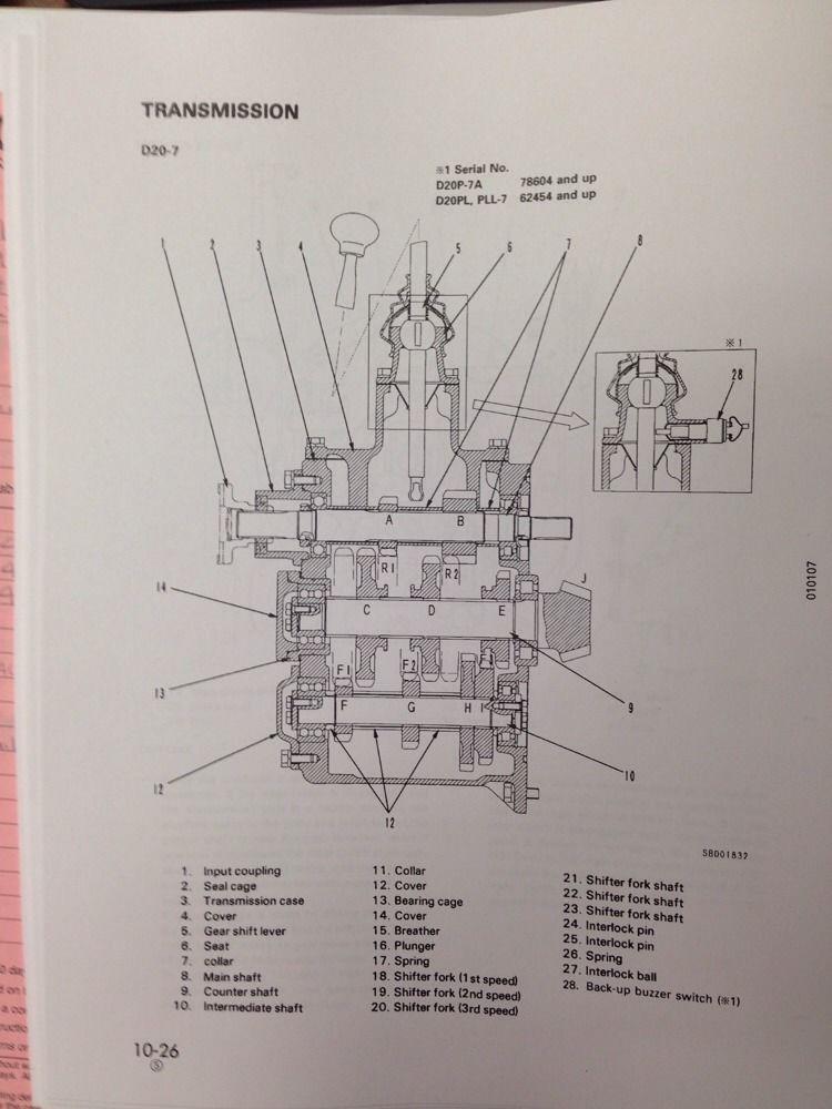 komatsu excavator wiring schematic komatsu fg forklift