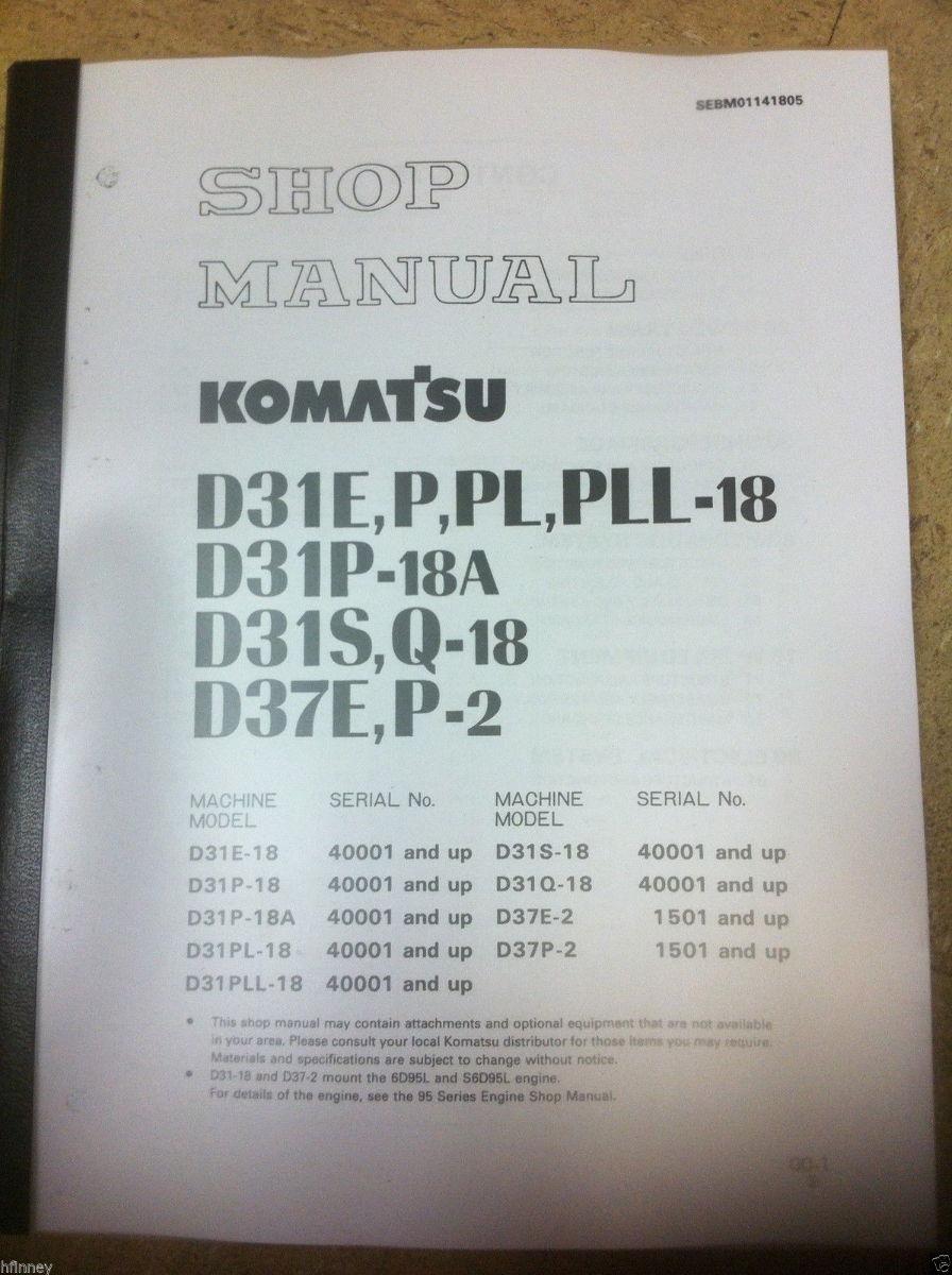 Komatsu D31e