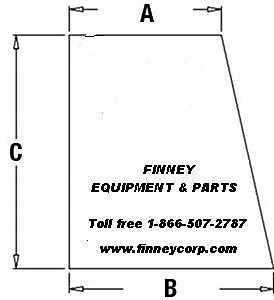 ... Case 580M 580SM 590SM RH RIGHT DOOR UPPER WINDOW GLASS 394700A1 **TWO DOOR CAB  sc 1 st  Finney Equipment and Parts & Case 580M 580SM 590SM RH RIGHT DOOR UPPER WINDOW GLASS 394700A1 ...