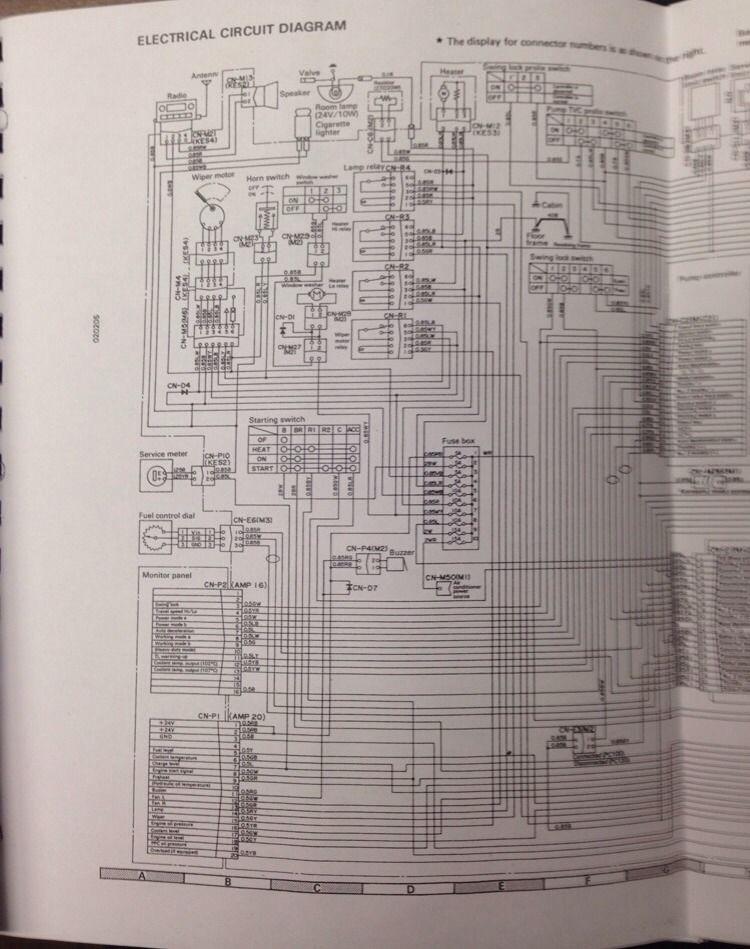 komatsu pc120 5 pc100 5 excavator service shop manual. Black Bedroom Furniture Sets. Home Design Ideas