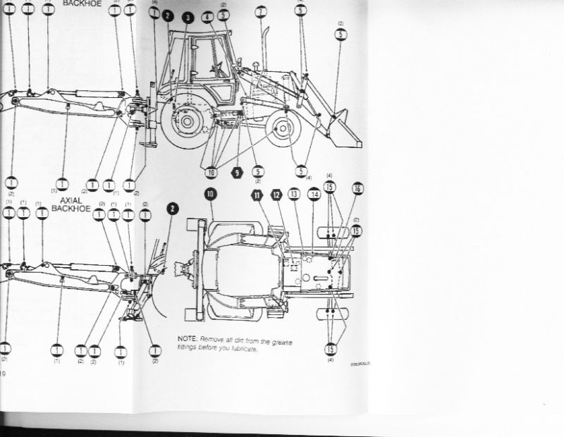 Case 580 Super K Backhoe Operators Manual Australia Sk