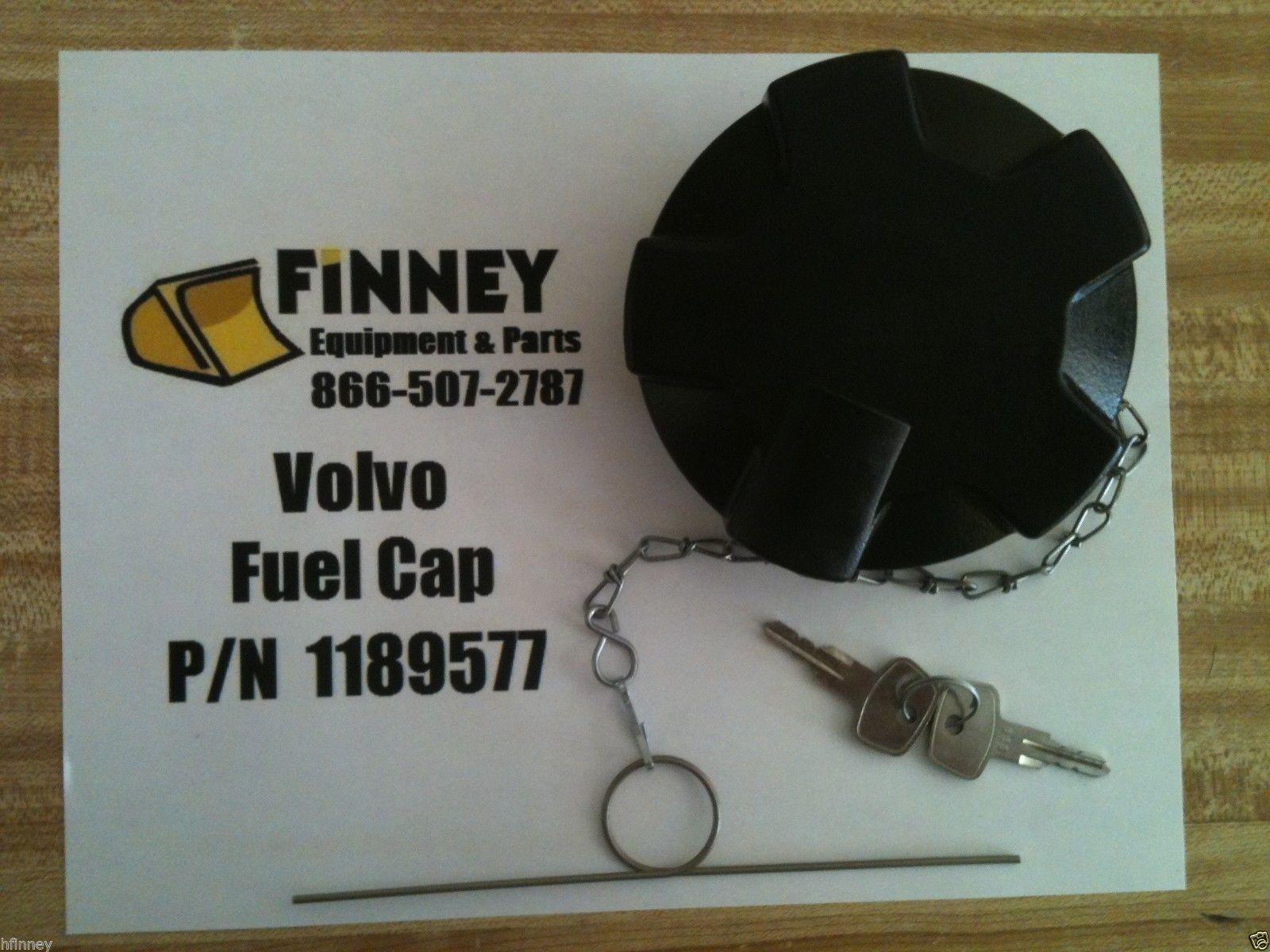 Volvo Locking Fuel Cap With Keys 1189577 A35 A45 L120c