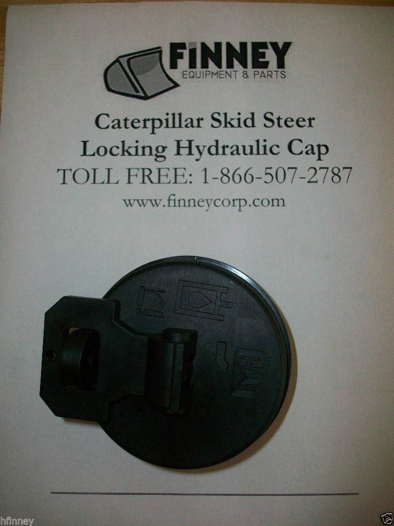 Caterpillar Cat Skid Steer Loader Locking Hydraulic Oil