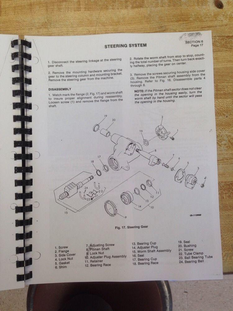 Dresser 510 515 Wheel Loader Service Manual Book Sm 1