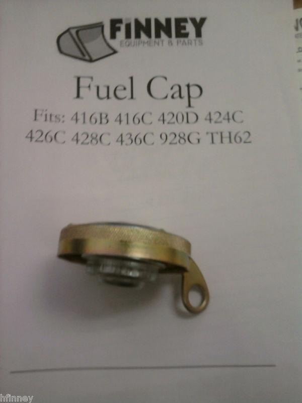 Caterpillar Cat Backhoe 416b 416c Locking Fuel Cap