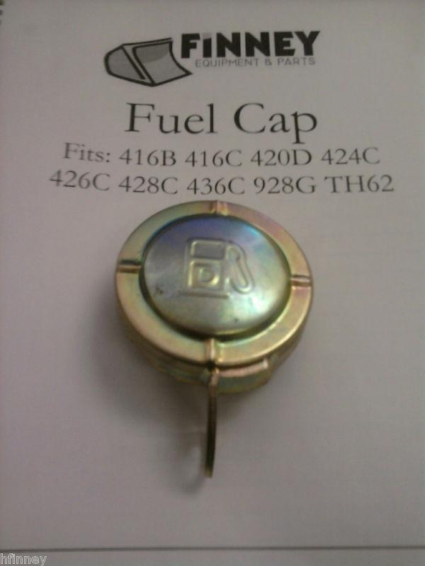 Case Backhoe Parts >> Caterpillar Cat Backhoe 416B 416C Locking Fuel Cap ...