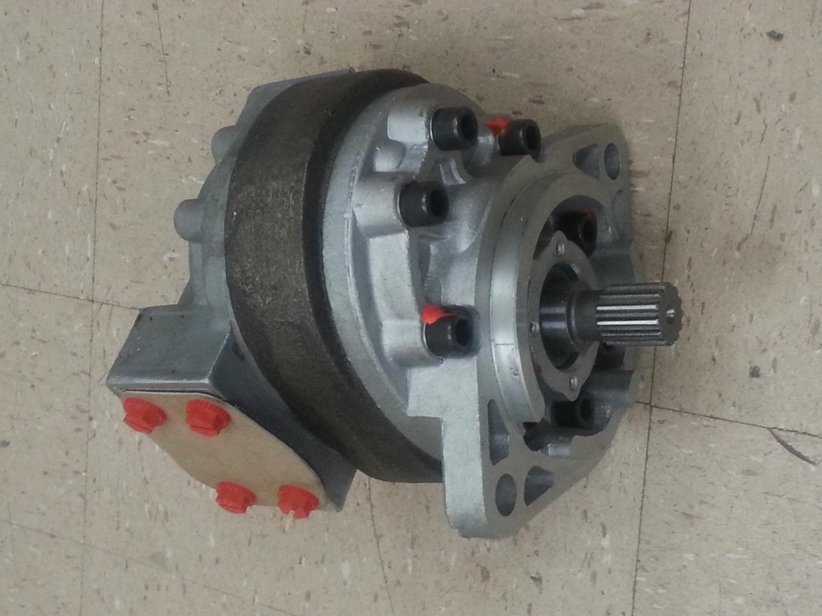 Ford New Holland Loader Backhoe Hydraulic Pump 550 535 555