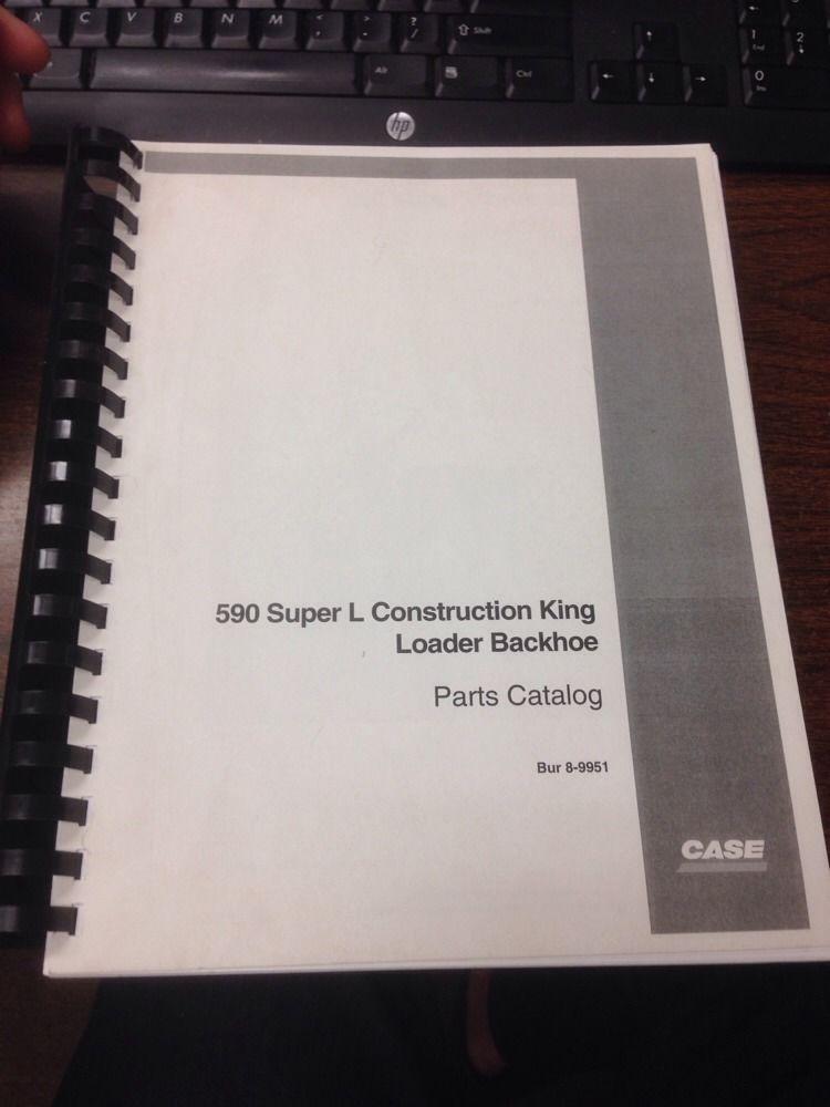 Sd Case Super L Sl Loader Backhoe Parts Manual Book Bur Catalog