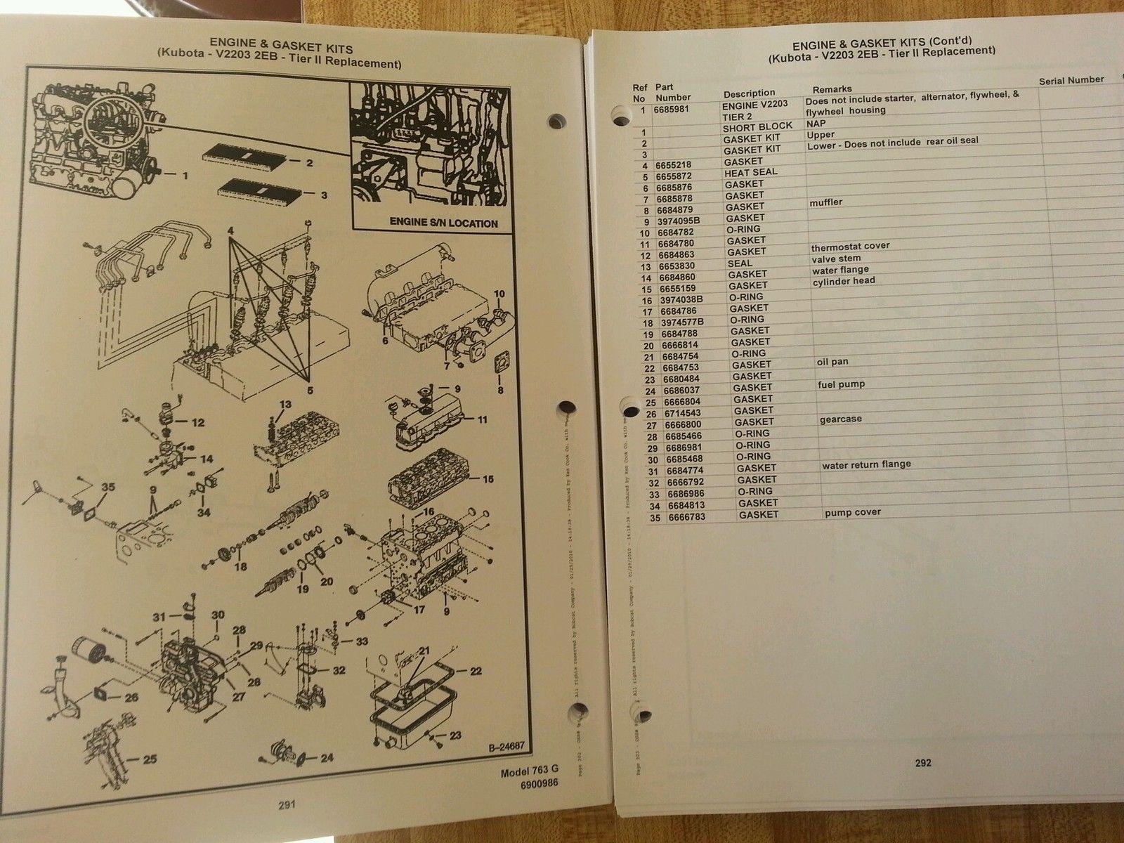 best collections of diagram bobcat 763g parts catalog download Bobcat 763 Wiring Diagram bobcat 763 763g skid steer parts manual book 6900986 finney bobcat 763 wiring diagram