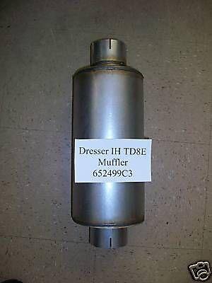 Bulldozers For Sale >> International Dresser IH TD8E TD7E 652499C3 Muffler ...