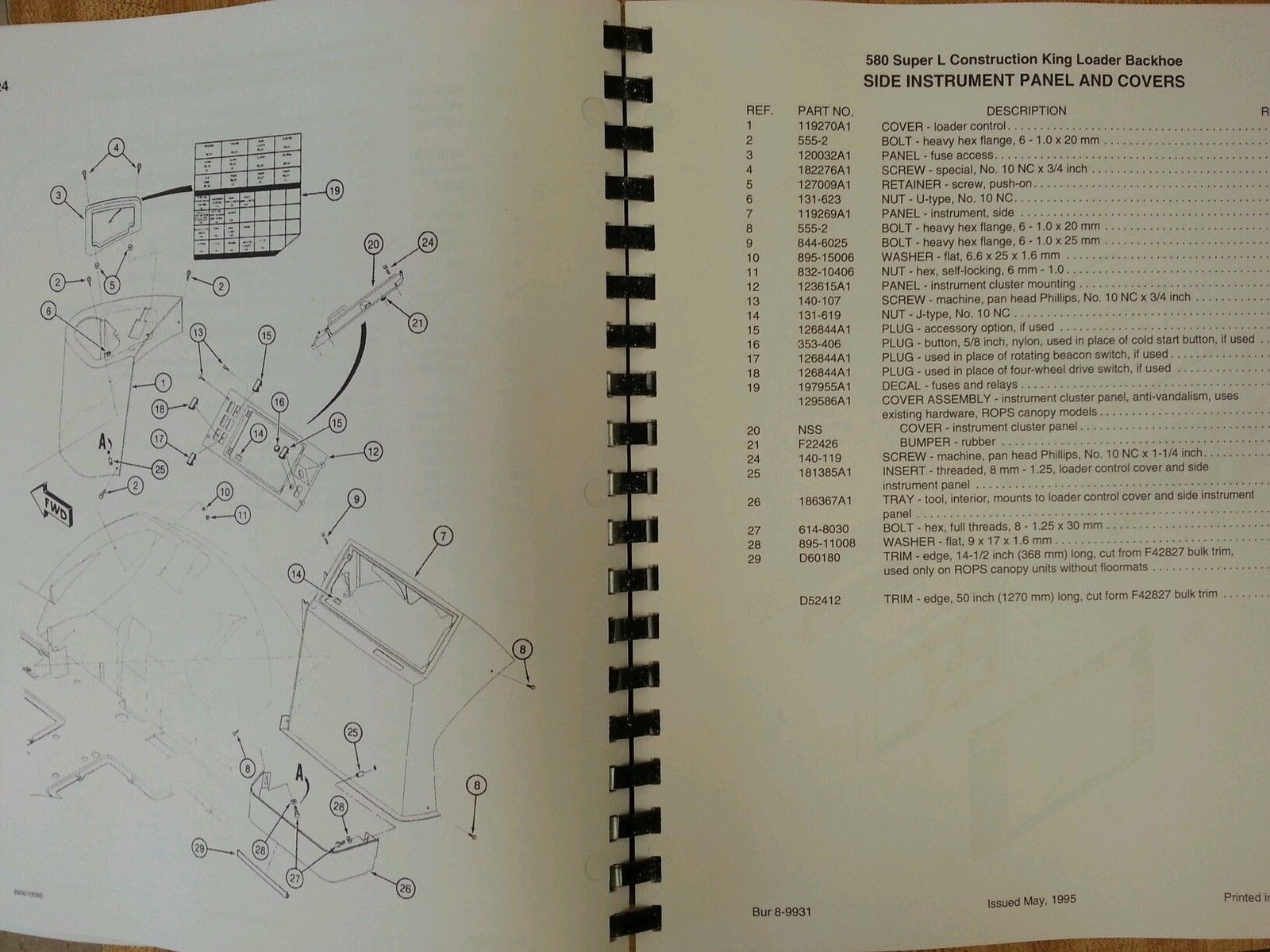 case 580 wiring diagram wiring diagram shrutiradio sd423452467 case 580  super l 580sl loader backhoe parts manual book 8 9931 4 case 580