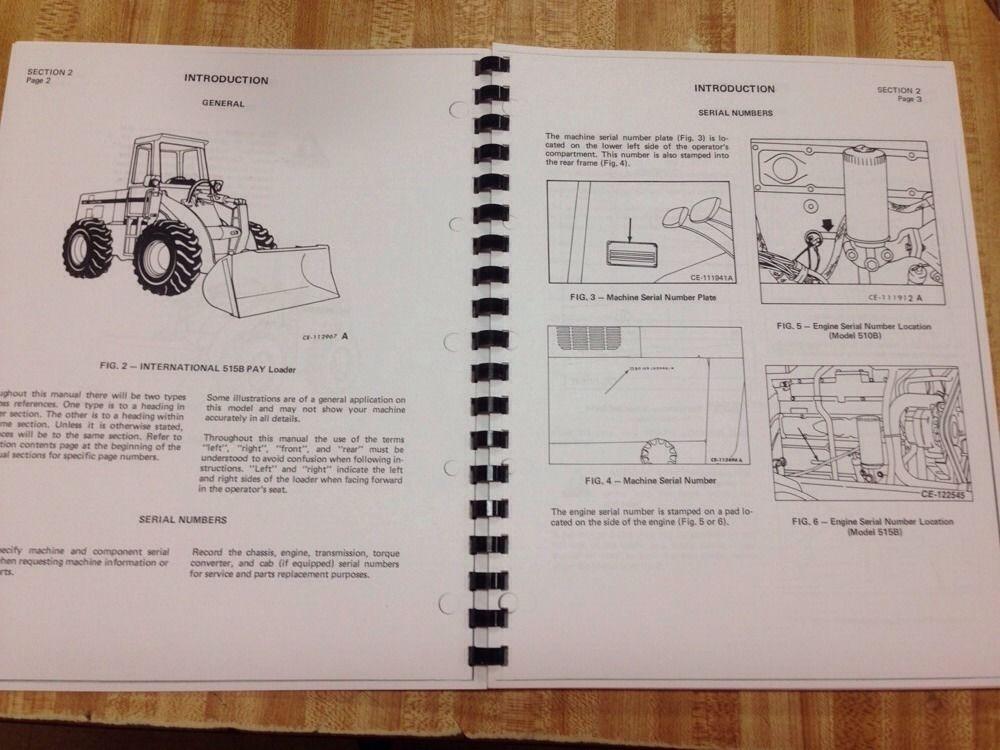 dresser 515 loader parts dresser 510 515 wheel loader parts manual rh coachhouse camerashop pw 510 Dresser Wheel Loader Dresser 510 Parts