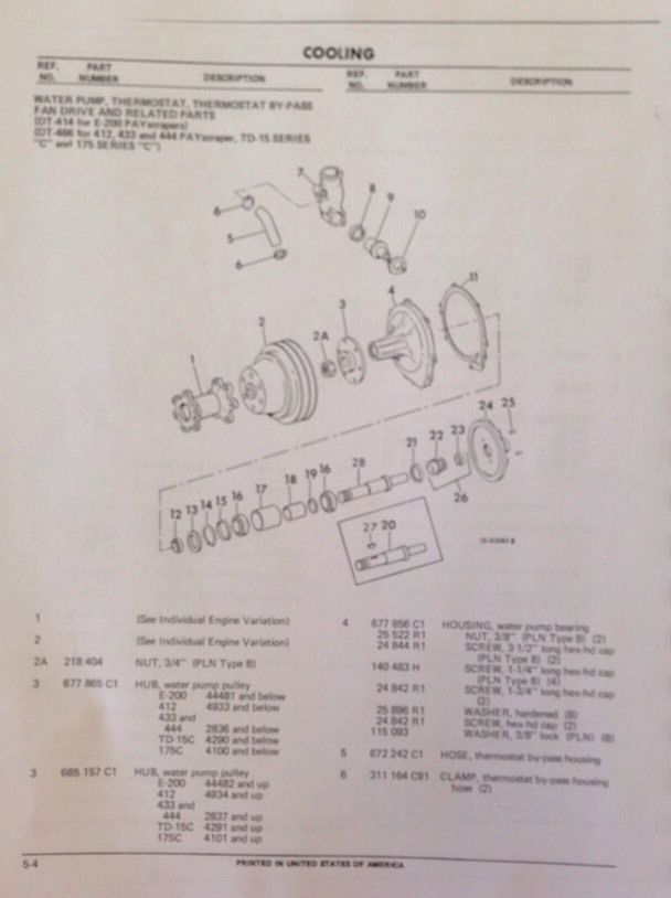 dt engine parts diagram dt diy wiring diagrams