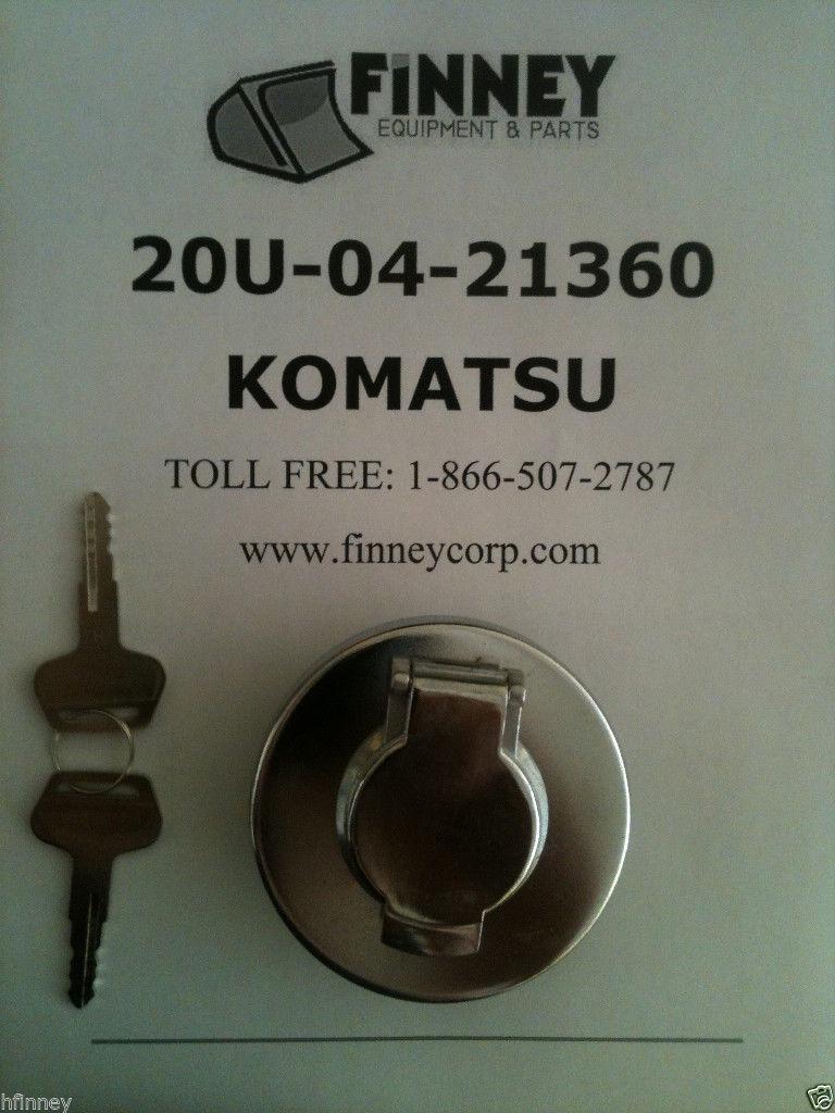 Komatsu Dozer Locking Fuel Cap 20u 04 21361 D21p 7 D20a