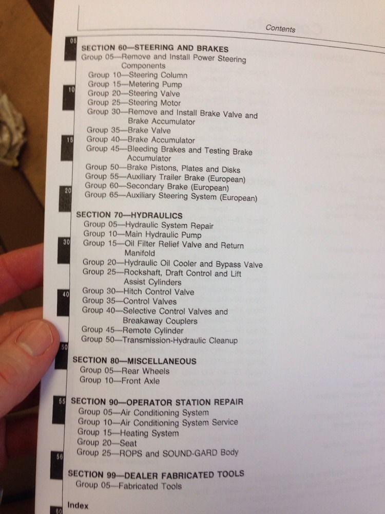 john deere 4955 service manual pdf