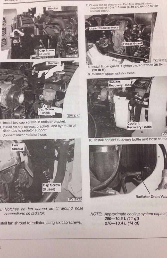John Deere Skid Steer >> John Deere JD 260 270 Skid Steer Loader Service Technical Manual Catalog TM1780 | Finney ...