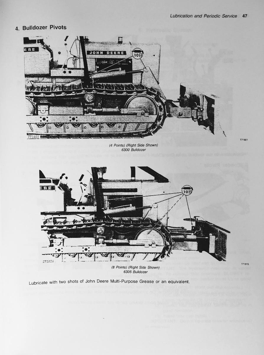 Sd John Deere Jd C Operator Operation Manual Omt F