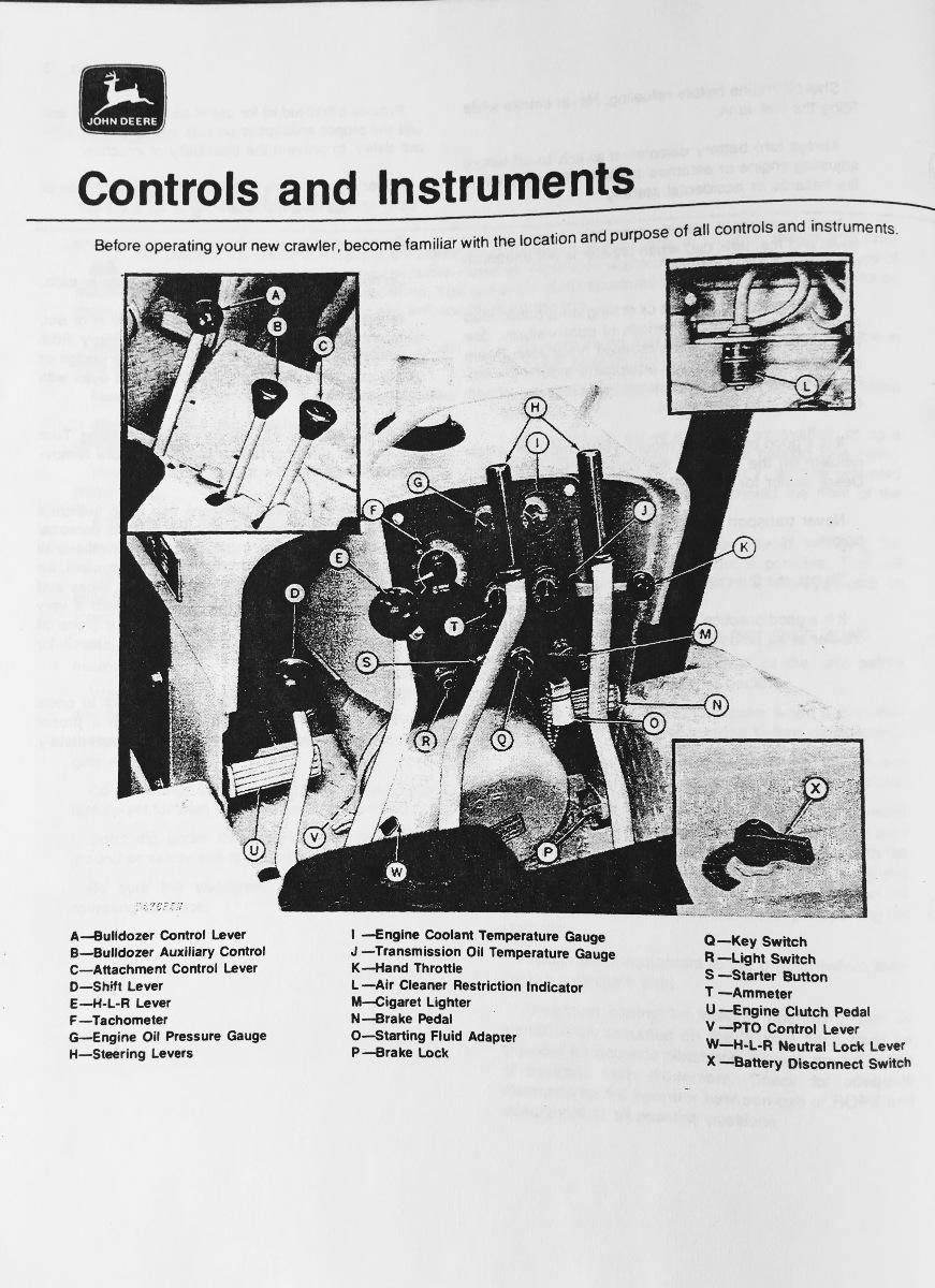 Ford Dealers In Michigan >> John Deere JD 450C Crawler Bulldozer Operator Operation ...