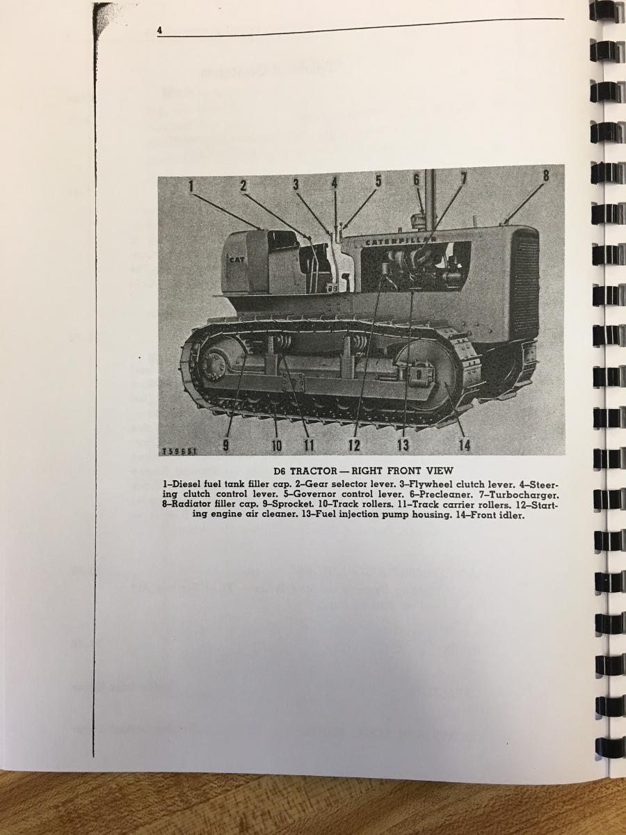sd490383215 cat caterpillar d6 operator manual book dozer crawler ser num 74a1 up 3 caterpillar dozer manual 28 images caterpillar d6n track type Caterpillar D6C 10K at gsmx.co