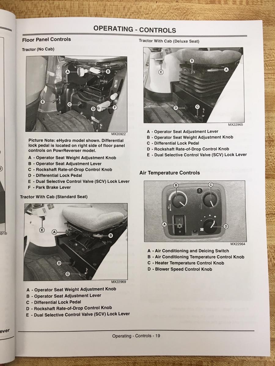 John Deere 3720 Manual : John deere jd compact utility tractor