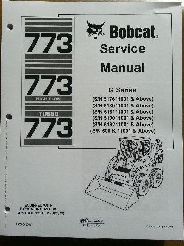sd423452295 bobcat 773g skid steer loader service manual turbo book form 6900834 bobcat 773g skid steer loader service manual turbo book form bobcat 773 wiring schematic at bakdesigns.co