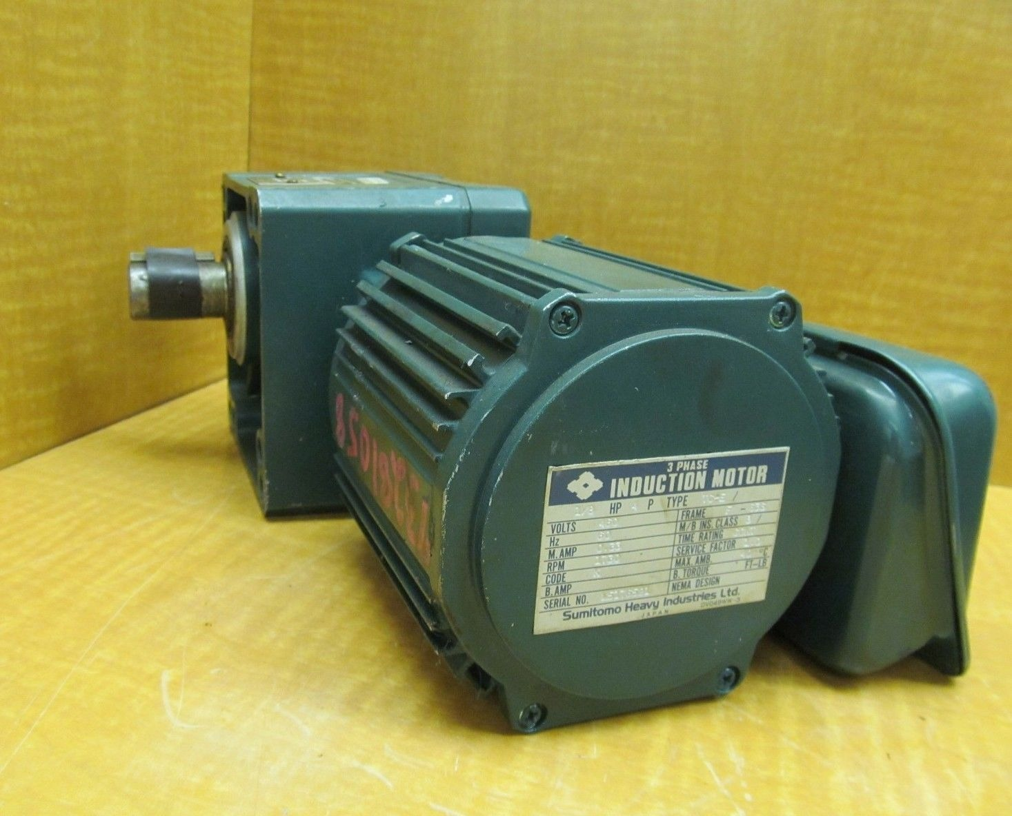 New Sumitomo Sm Cyclo Motor Rmfs1 8 20l Ratio 30 Output Rpm 60 0 Hp 1 8 Ebay