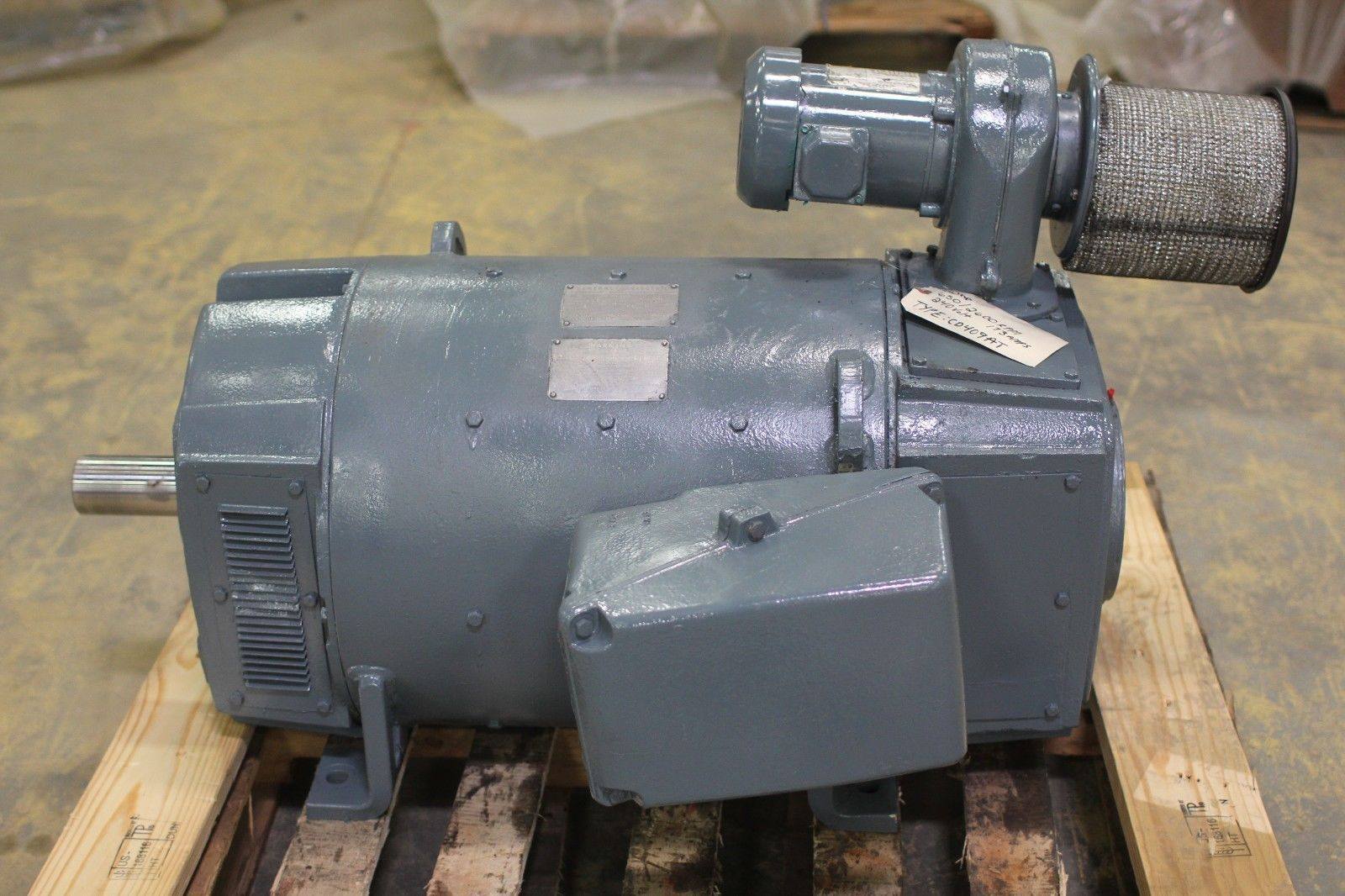 Rebuilt Ge 50 Hp Dc Spindle Motor 5cd204pa082a001 650 2600
