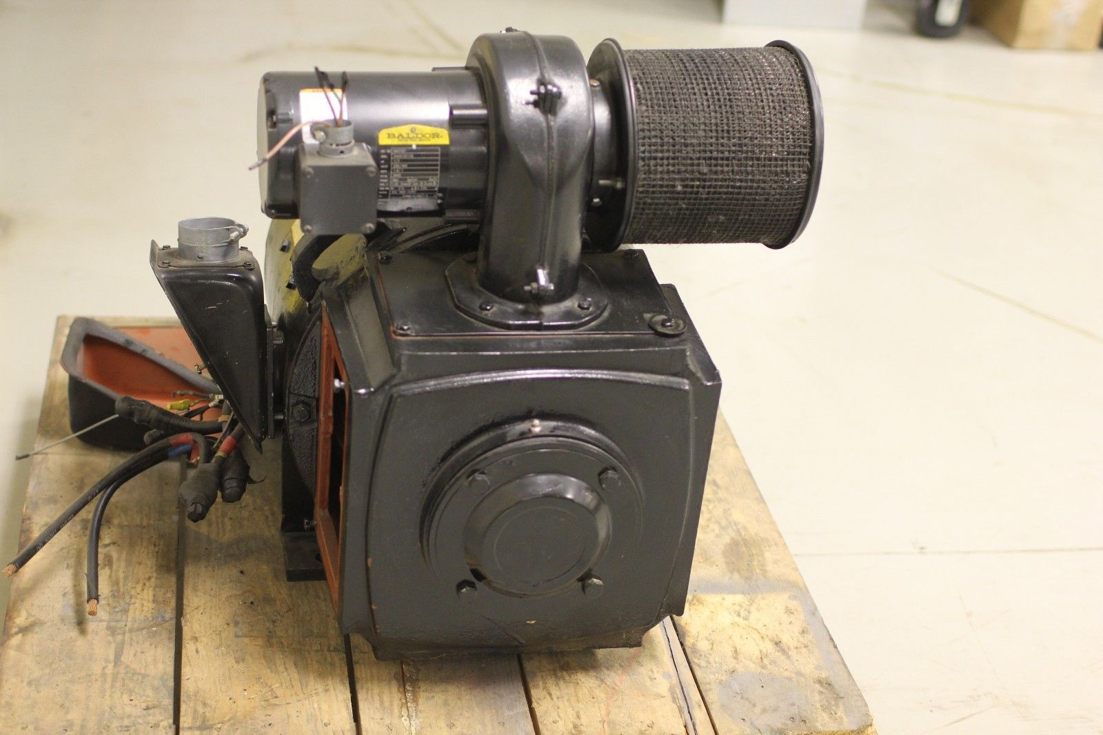 used ge kinamatic dc motor 5cd193pa003a047 75 hp 1750 2100
