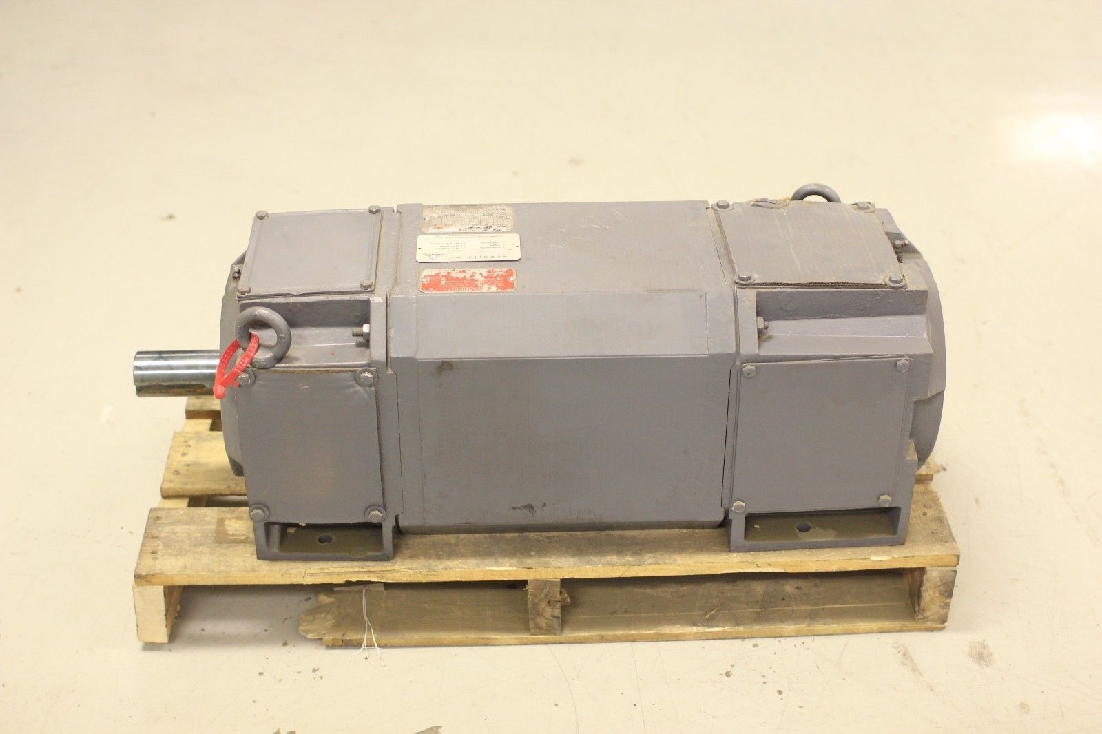 Rblt reliance electric 460v ac motor p25l0238a ee 75 hp for Reliance electric motor parts