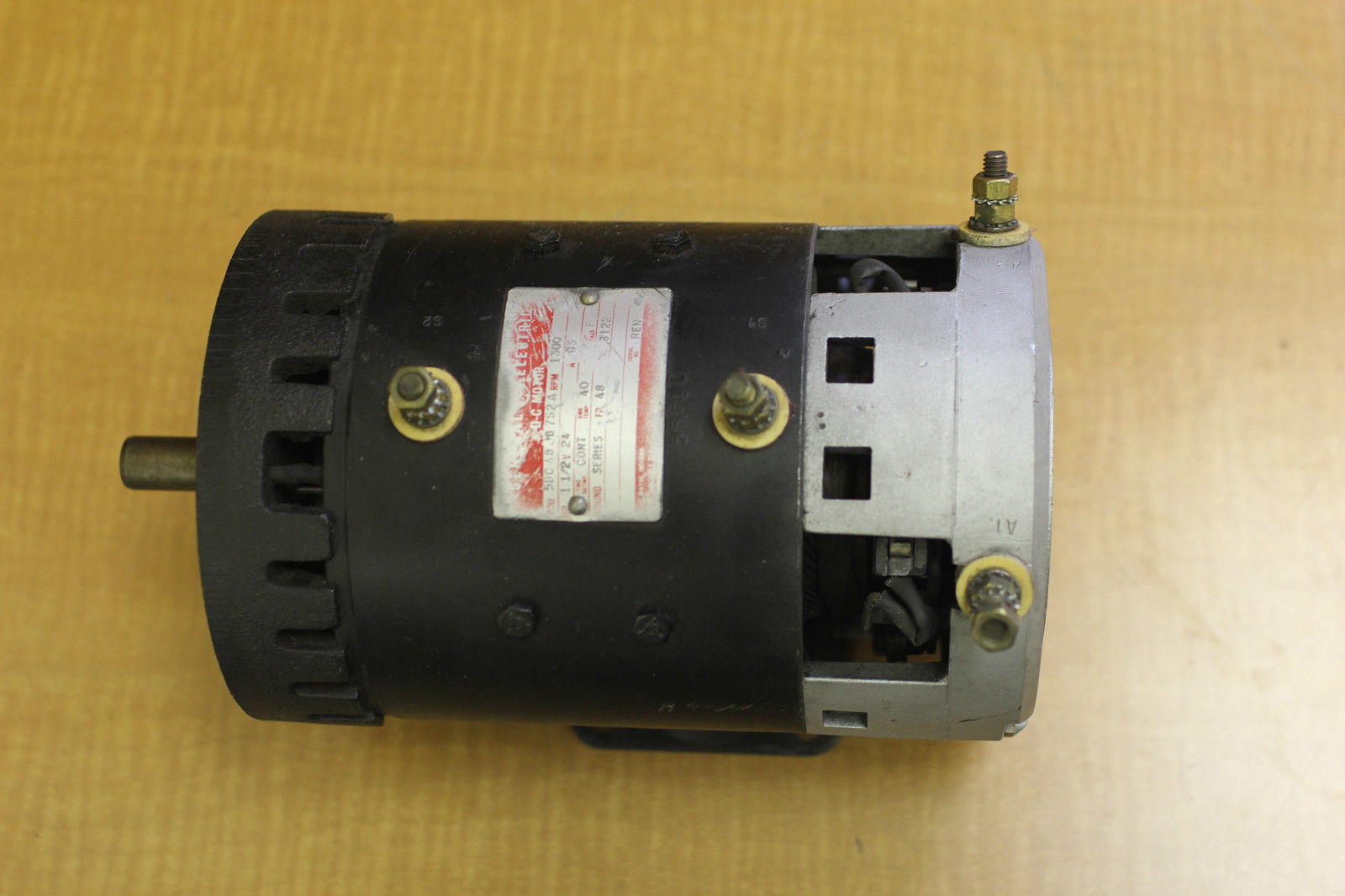 Used ge forklift dc motor tested guaranteed 5bc48jb752a for 15 hp dc electric motor