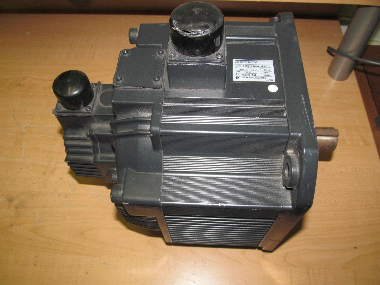 New Yaskawa Ac Servo Motor Sgmd 40awa Yri2 4000w 22 8a
