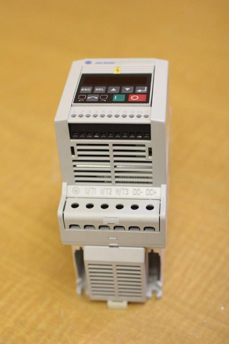 Allen bradley vfd drive motor speed controller 160 for Vfd for 1hp motor
