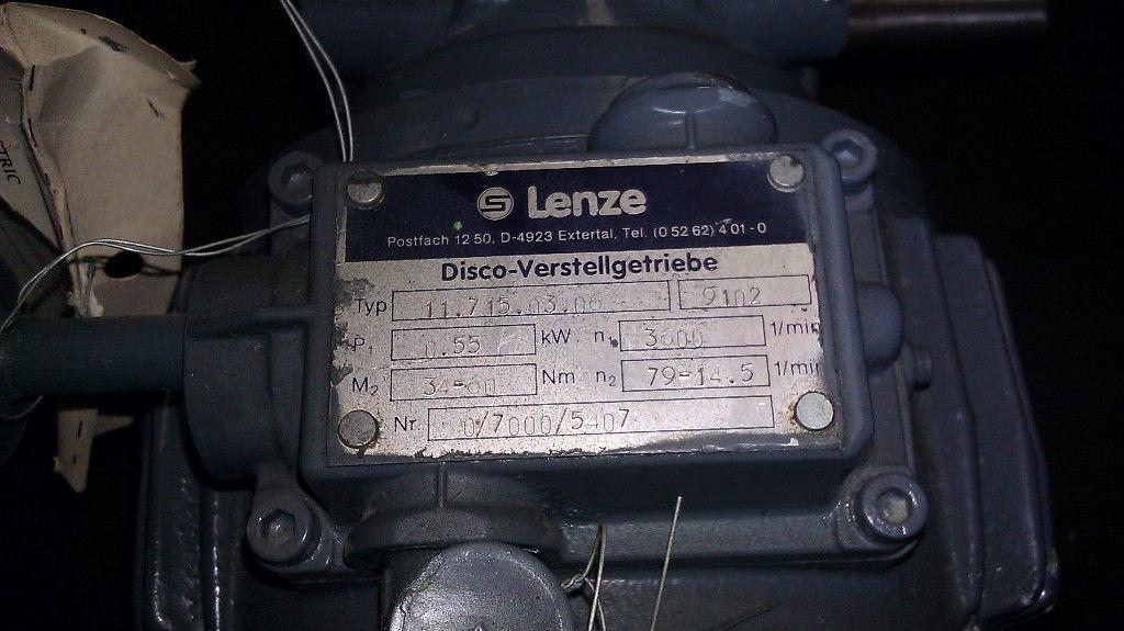 Lenze Emod Motor Adjustable Gear Gearbox 71l 2 55 Kw Ebay