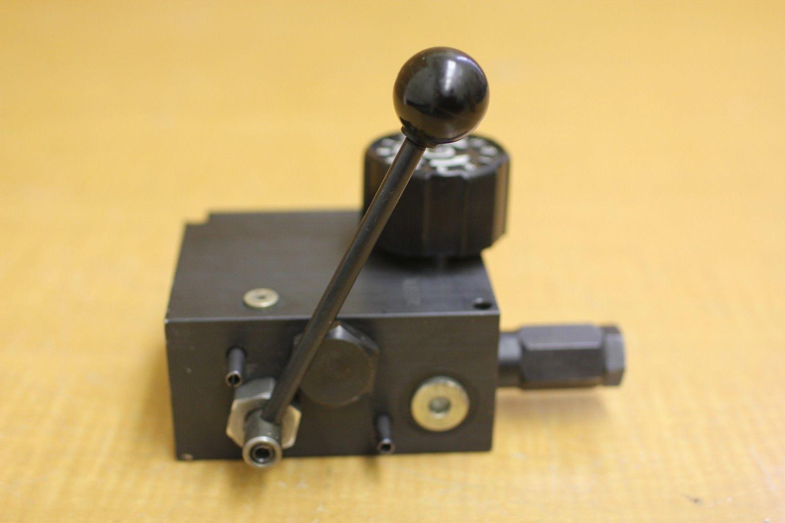 Hyd Control Valve Lever Knobs : New parker gresen single knob hyd auger flow control valve