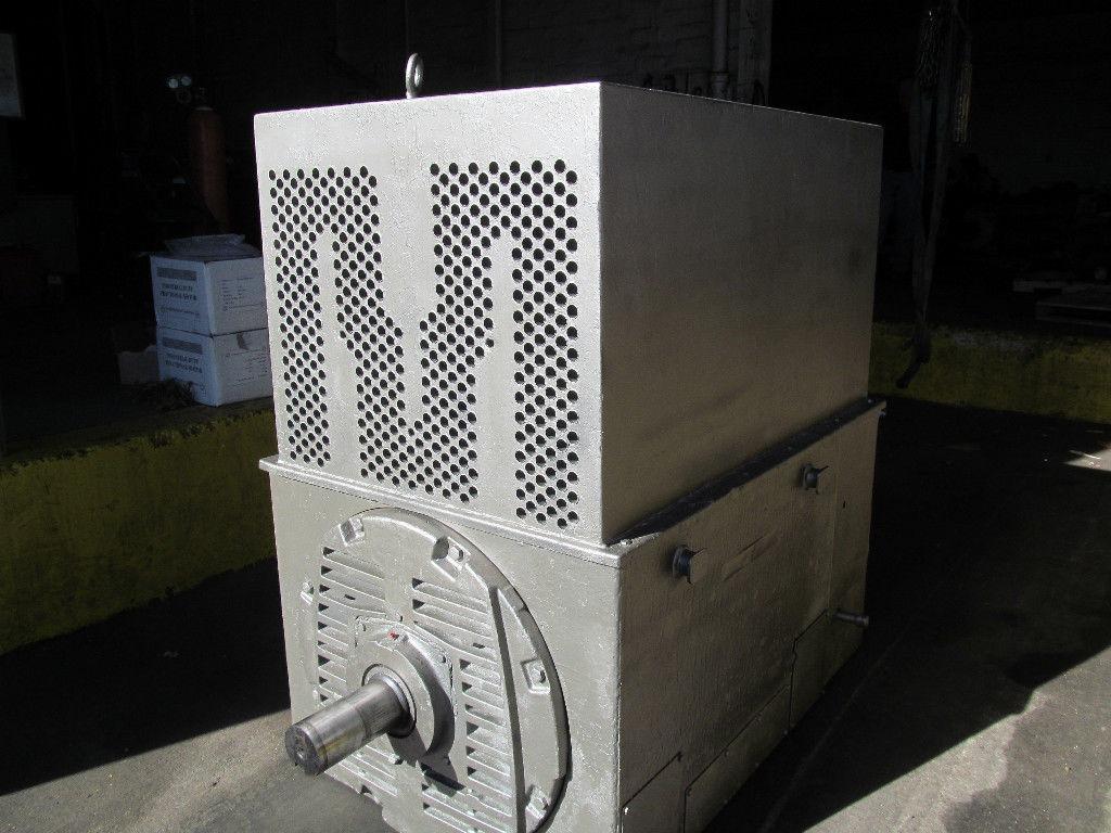 Ge custom 8000 ac electric motor 400 hp 5k828840a87 1185 for 400 hp electric motor