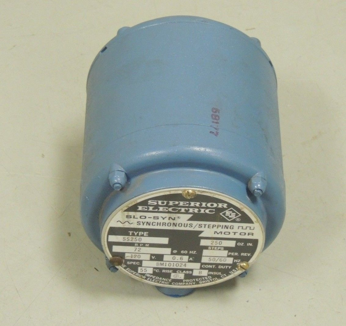 new superior electric slo syn synchronous stepping motor