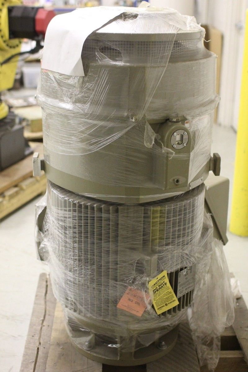 New ge 100 hp vertical motor 5k405st6454a 1790 rpm for Ge motors and industrial systems