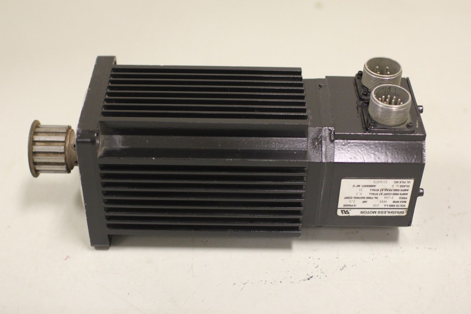 Reliance Electric Electrocraft 2 5 Hp Servo Motor S 4050 P