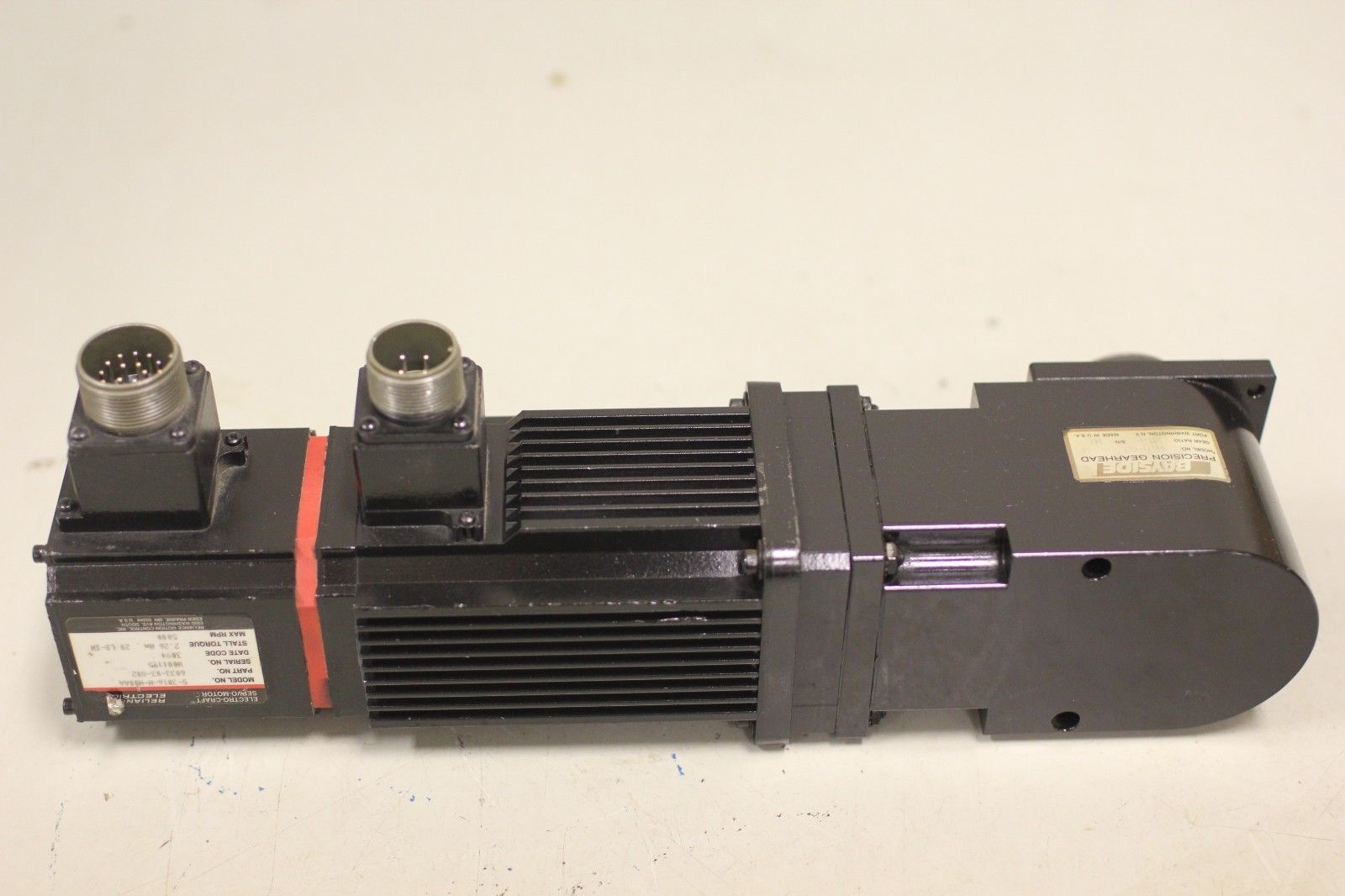 Reliance Electrocraft 1 Hp Servo Motor S 3016 N H00aa 6033