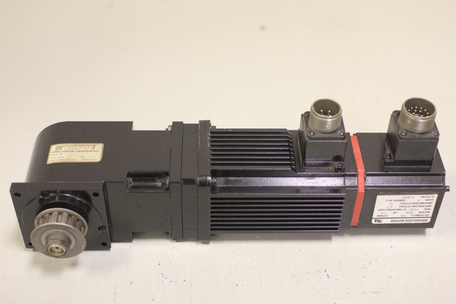 Reliance Electrocraft 1 Hp Servo Motor S 3016 N H00aa 6033