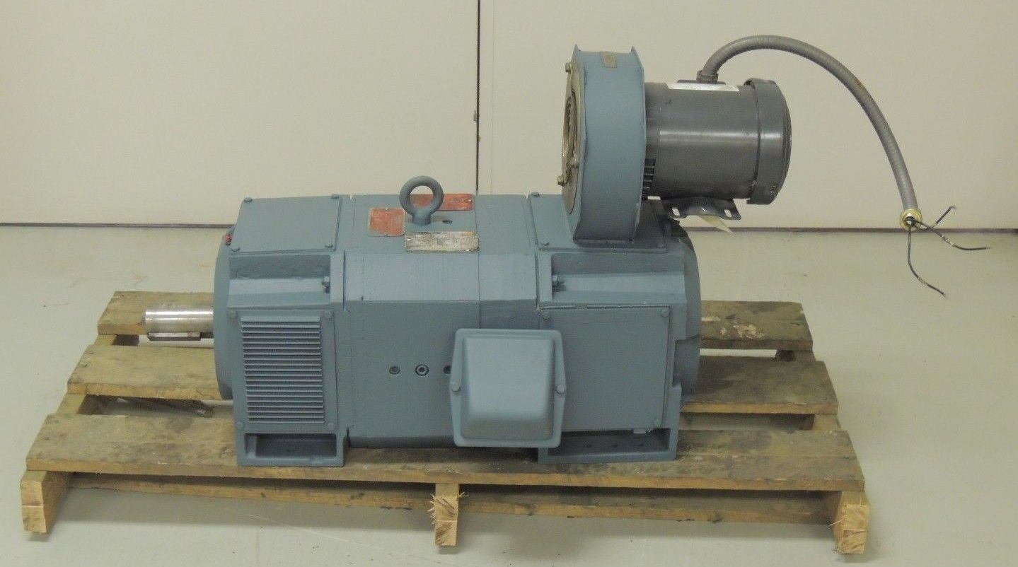 Used Reliance Dc Motor Sc2512atz 50 H P 2500 Rpm 500 Arm