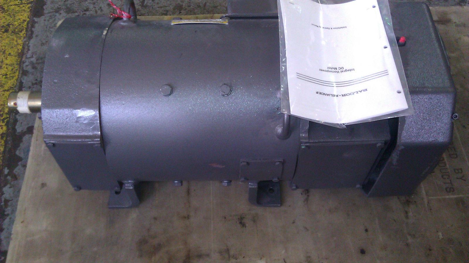 New baldor dc motor 20 hp 2500 2875 288at 500v 300 150v for Motor baldor 20 hp