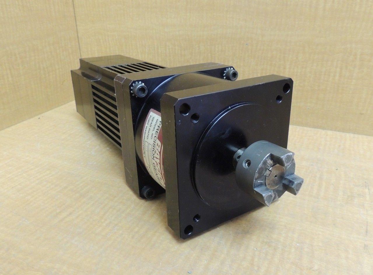 Used Emerson Servo Motor Dxe 430b W Bayside Gearhead Ne56 005