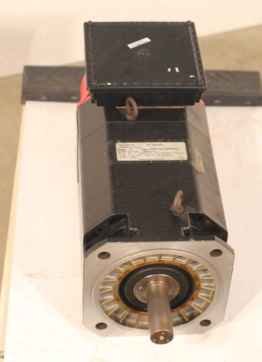 Rblt Ge Fanuc Ac Spindle Servo Motor 6s A068 0754 B300