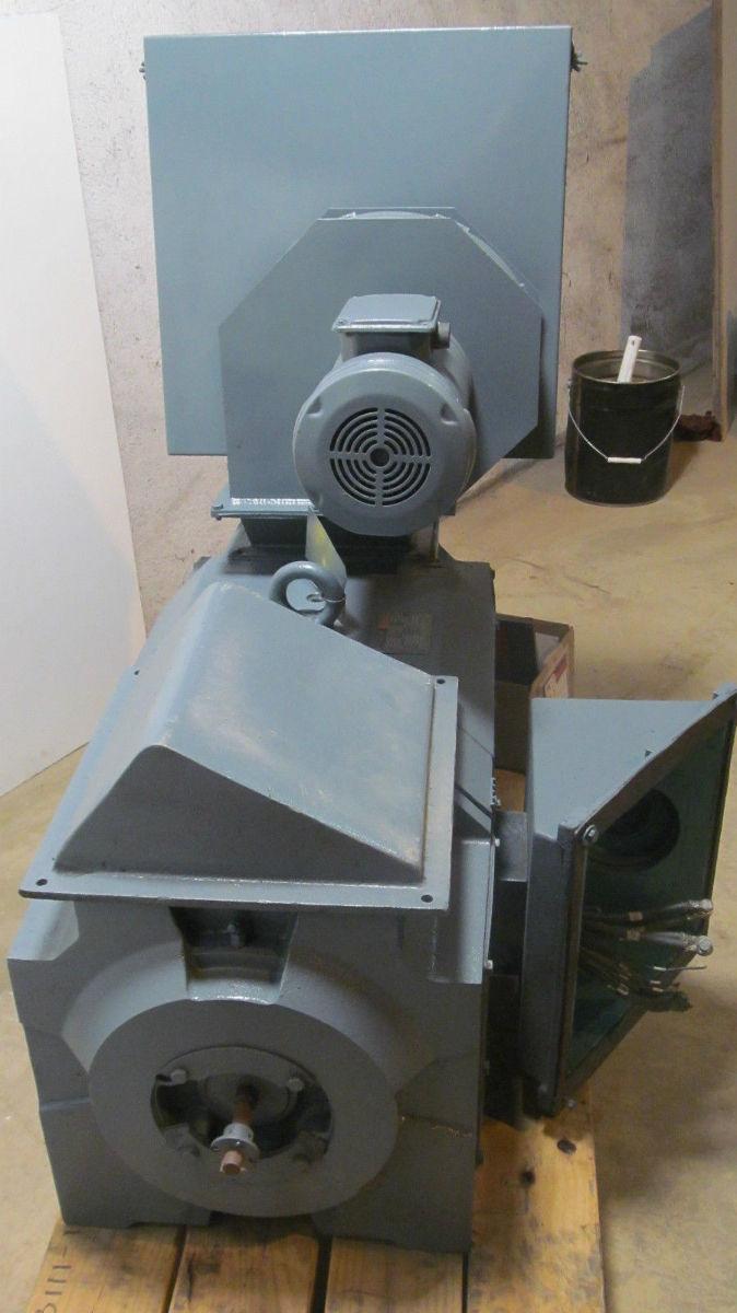 Rebuilt reliance dc motor 150 hp 1750 2000 500v 300v for 500 hp dc motor