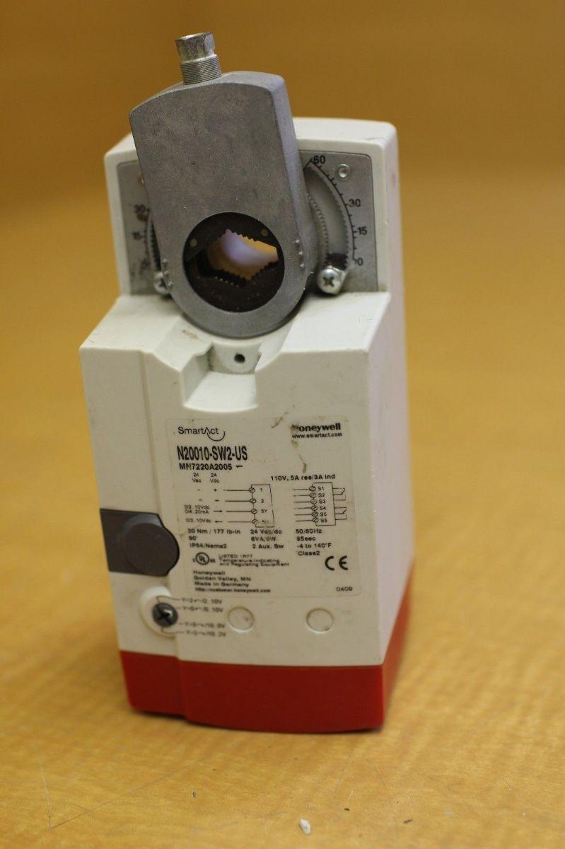 Used honeywell non spring return damper actuator n20010 for Honeywell damper control motor