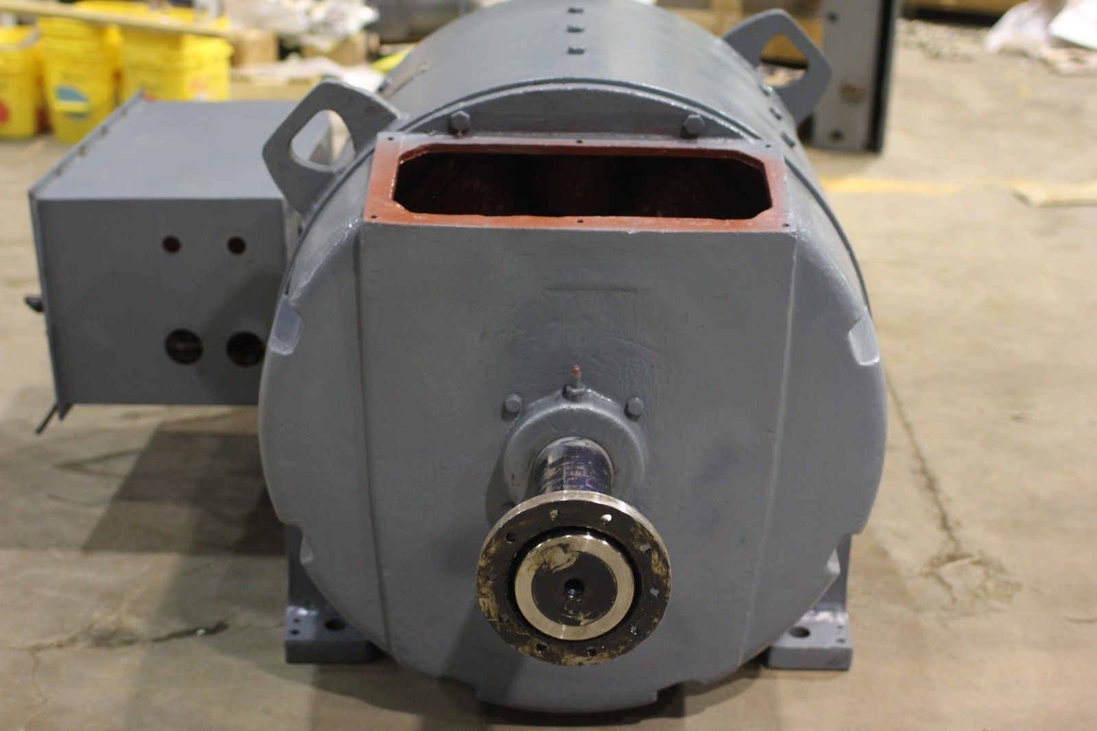 Used ge kinamatic 400 hp 1150 1500 rpm dc motor cd685a for 400 hp electric motor
