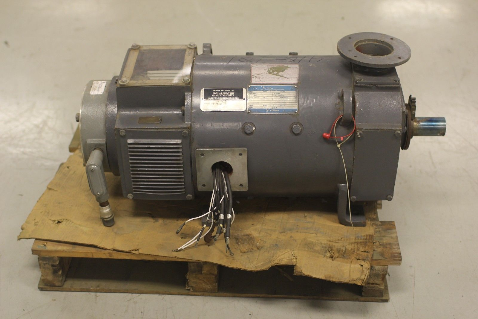 rblt avtron ge dc shunt motor cd288at 5cd174rad21a896 30